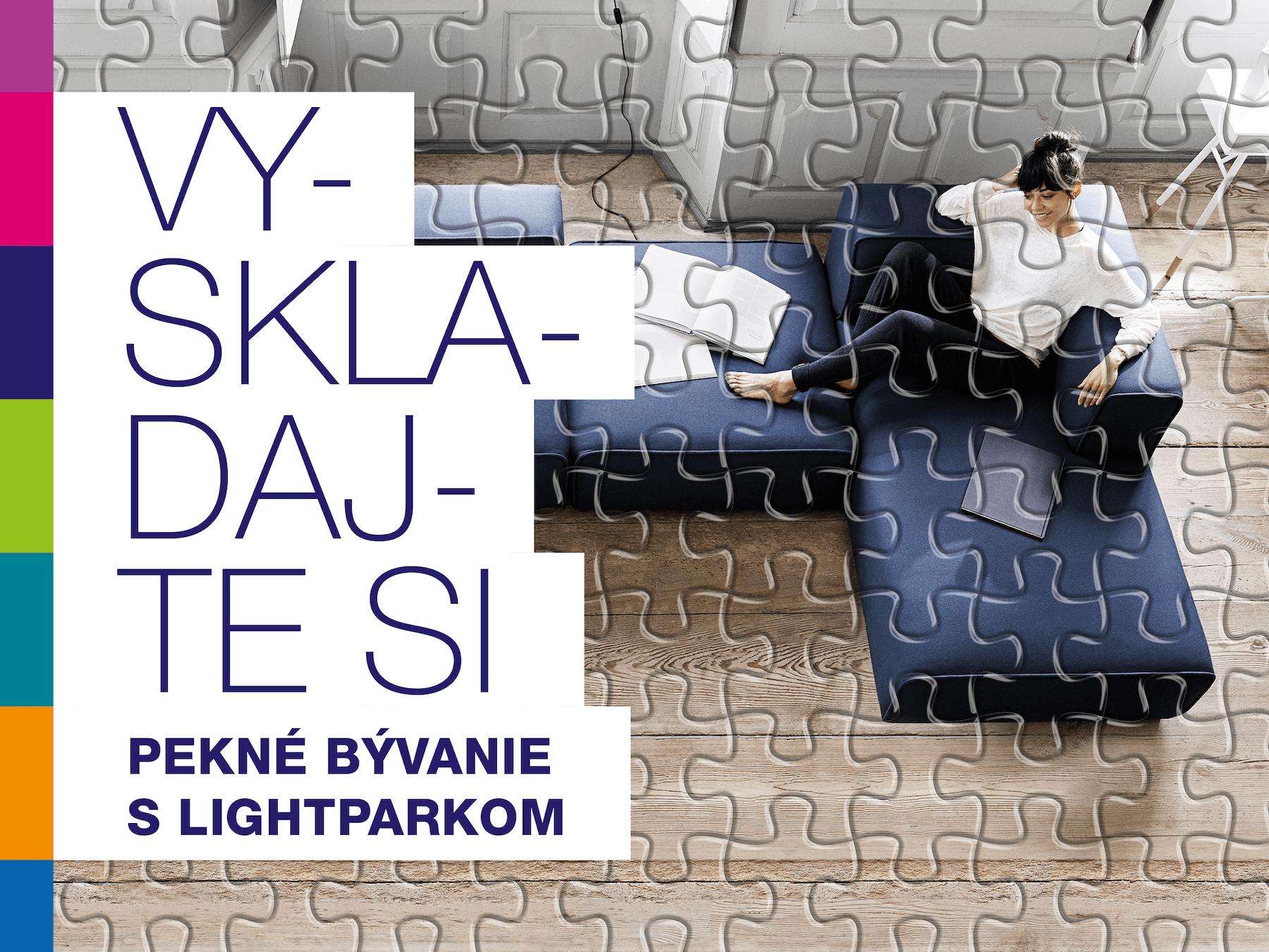 Vyskladajte si pekné bývanie s LightParkom