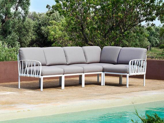 Modulárna variabilná sedačka Komodo
