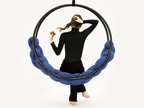 lightpark homie concept hojdačka swing plait interiérová